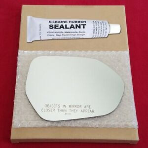 Mirror Glass Replacement Silicone Adhesive For Toyota Camry Or Prius Passenger