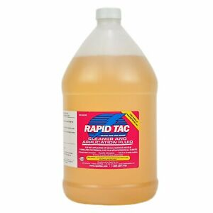 Rapid Tac Application Fluid For Vinyl Wraps Decals Stickers 128 Ounce 1 Gal