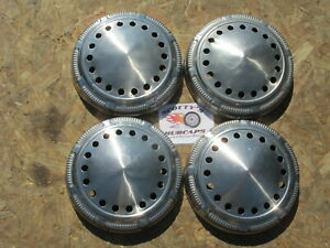 1968 74 Dodge Plymouth Mopar Cop Car Dog Dish Hubcaps Set Of 4 Charger Fury