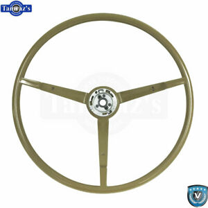 65 66 Ford Mustang Correct 15 Reproduction O e Style Steering Wheel Ivy Gold