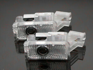 2x Car Led Door Ghost Logo Projector Puddle Lights For Acura Mdx Rlx Zdx Tl Tlx