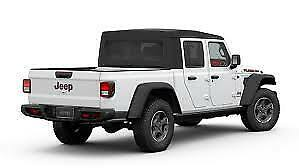 New 2020 Jeep Gladiator Rubicon Rear jeep Gray red Tailgate Nameplate oem