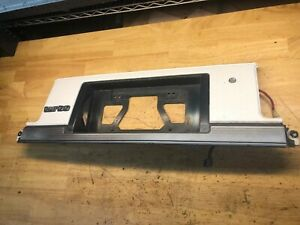 1987 Toyota Supra Ma70 Mk3 Rear License Plate Garnish Trim Panel Turbo 7m