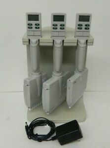 Rainin Edp3 plus Multi channel Pipettes 20 200ul 10 1200ul W Charger Stand