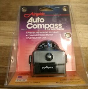 Vintage 1960 S 70 S Airguide Scottsdale Model 1601 Auto Dash Compass Nos Unused