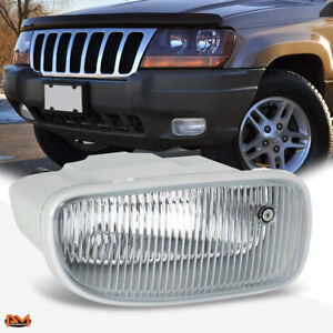 For 99 01 Jeep Grand Cherokee Oe Style Front Bumper Driving Fog Light Lamp Right