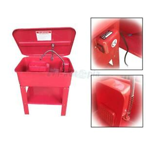 20 Gallon Auto Parts Tools Cleaner Washer Tank Cabinet 120v Voltage