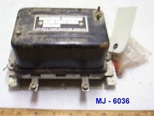 Vintage Leece neville 14 Volt Voltage Regulator Parts Kit P n 3706rc nos