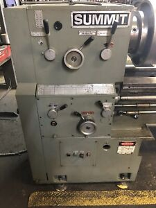 Summit 20 4x120 Engine Lathe 26 X 120
