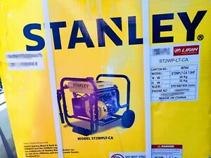 Stanley 2 Water Trash Dewatering Pump St2wplt 110gpm 7hp Local Pickup Only