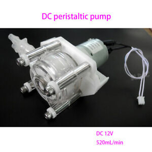 High Flow Mini 12v Peristaltic Pump Dosing Anti corrosion Vacuum Suction Pump Fy