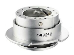 Nrg Steering Wheel Quick Release Gen 2 5 Silver Color