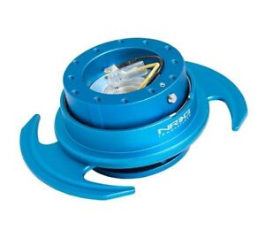 Nrg 3 0 Gen Steering Wheel Quick Release Hub Blue