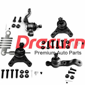 4pcs Front Suspension Ball Joint Kit For 1995 2004 Toyota Tacoma 2wd