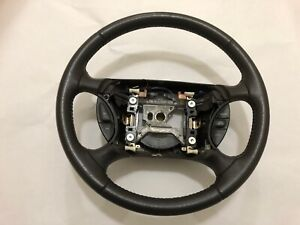 Ford Mustang Gt Leather Steering Wheel 2000 2001 2002 2003 2004 Cruise Control