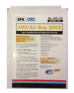 Otc 3421 22 Abs Air Bag 2002 Software Suite For Genisys