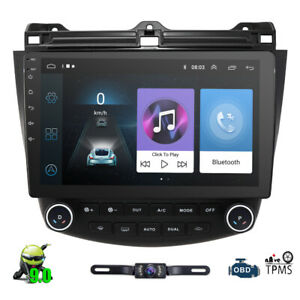 Dab 2003 2007 For Honda Accord 7 Android 9 0 Car Radio Gps Navi Player 10 1 E