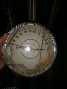 1939 Lincoln Zephyr Speedometer Will Clean Up Real Nice