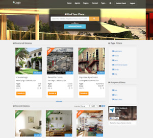 Property Listing And Real Estate Selling Website