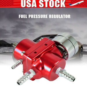 Adjustable Universal Auto Car Fuel Pressure Regulator With Oil Gauge Kit