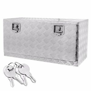 Aluminum Pickup Truck 26 Underbody Bed Tool Box Under Trailer Tool Storage New