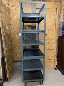 Heavy Duty Metal Shelf 36 Wide 24 Deep And 86 Tall 6 Shelves Total