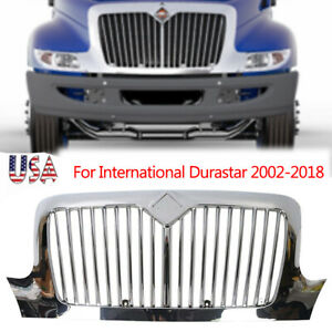 international Durastar 2002 2018 Chrome Grill Grille With Bugscreen