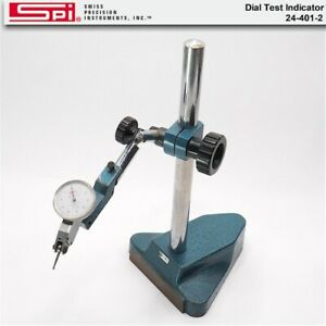 Spi Dial Test Indicator No 24 401 2 With Steel Stand