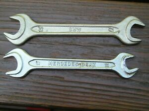 2 Open End Wrenches Bmw Mercedes 17 19 Mm 13 17 Mm Din 895 Heyco Walter