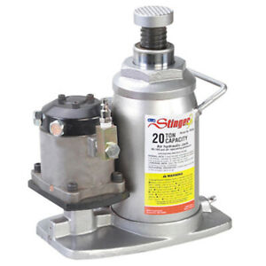 Otc 4321c 20 Ton Capacity Air Assist Hydraulic Bottle Jack New Free Shipping Usa