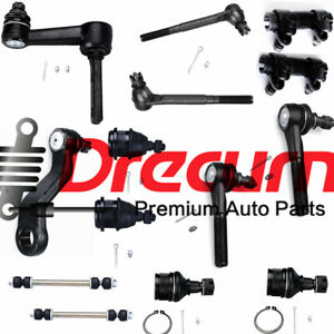 14pc Upper Lower Ball Joints Tie Rod Pitman Idler Arm For Ram Dodge 2500 3500