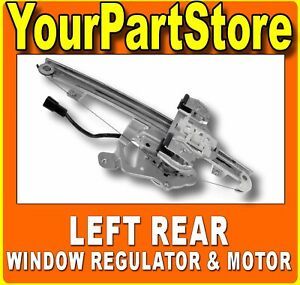 Power Window Lift Motor Regulator Driver Side Left Rear For Hummer H3 H3t