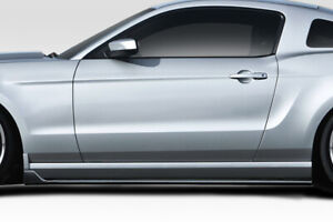 Duraflex Gt350 Look Side Skirts 2 Piece For 2005 2014 Mustang