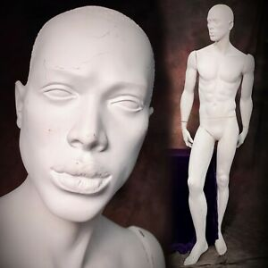 Rootstein Mannequin Man Male African American Black Display Full Realistic Vtg