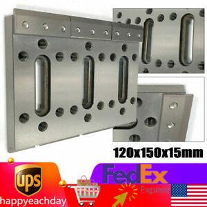 Wire Edm Fixture Board Stainless Jig Tool For Clamping leveling 120x150x15mm New