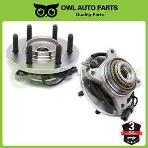 Front Wheel Bearing Hub Assembly 4wd 6bolt Abs Ford F150 4 2l 4 6l 5 4l 515119