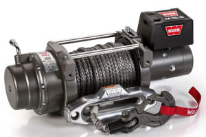 Warn 97730 M15 s 15000 Lb Winch 80 3 8 Spydra Synthetic Rope Heavy Series