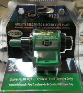 Mr Gasket Gravity Feed Micro Electric Fuel Pump 12d For Diesel Fuel Transfer