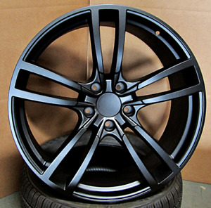 22x10 Black 5x130 Double Spoke Wheels Fit Porsche Cayenne Touareg 22 Inch Set 4