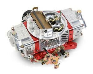 Holley 0 76850rd 850 Ultra Double Pumper Carburetor W Red Billet Electric Choke