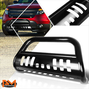For 11 16 Ford Explorer 3 Tubing Bull Bar Front Push Bumper Grille Guard Black