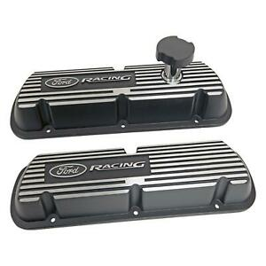Ford Racing Efi Valve Covers M 6000 j302r Ford Small Block V8 Black Wrinkle