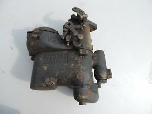 Vintage 1920 S 1930 S Schebler Model S 1 1 2 Vert Carburetor For Parts Rebuild