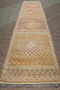 Vintage Turkish Kilim Runner Rug Carpet Runner 27 5 X110 2 Hallway Rug Corridor