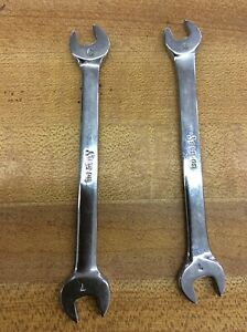 Snap On Vom67 Usa 6mm 7mm Open End Wrench