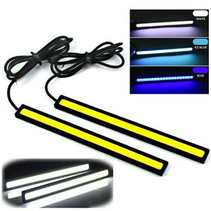 Ice Blue 12v Led Strip Lights Car Truck Boat Interior 17cm Under Dash Floor