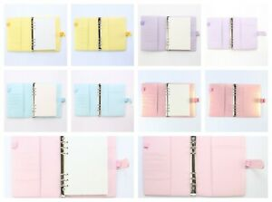2019 Office School Notebooks Personal Binders A5 A6 Sizes Faux Leather 80 Sheets