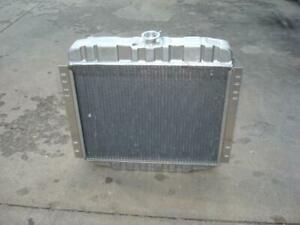 1970 1973 Ford Maverick Griffin Aluminum Radiator W tranny Cooler