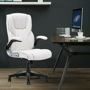 Yamasoro Ergonomic Leather Office Chair High Back Computer Executive Desk Chair