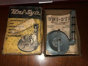 Vintage Auto Parts Carburetor Engine Part In Box